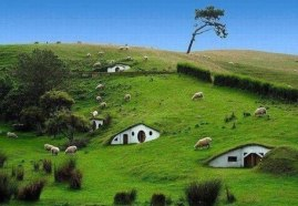 Hobbit Village, New Zealand.